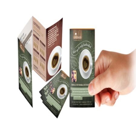 mini fold menu printing uprinting com